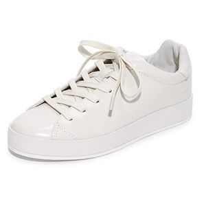 Rag and Bone RB1 polished leather sneaker